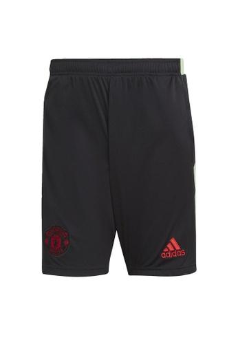 ADIDAS black adidas Manchester United Shorts 5DF76AADB06B5EGS_1