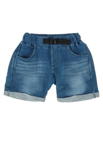 GLOBAL WORK blue Denim Shorts 08362KA20203E5GS_1