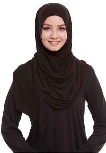 Mybamus Sagita Instant Cotton Shawl Black