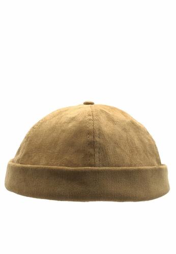 Twenty Eight Shoes Corduroy Dome Cap GD-A16 16ED3AC3B70D84GS_1