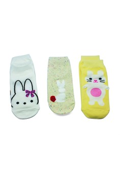 Bunny Socks Set (3 pieces set)