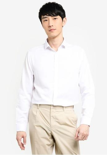 KOTON white Long Sleeves Shirt 2637BAA444B50DGS_1