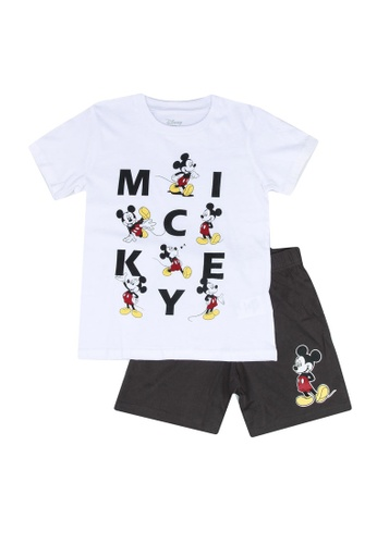 FOX Kids & Baby white Mickey Pyjamas 3B2E6KAFB91E74GS_1