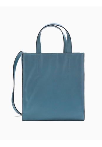 Calvin Klein blue Embossed Logo Tote 89BFEACCA82811GS_1