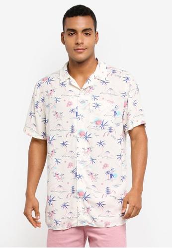 Cotton On white 91 Short Sleeve Shirt CB888AA13F9A4BGS_1