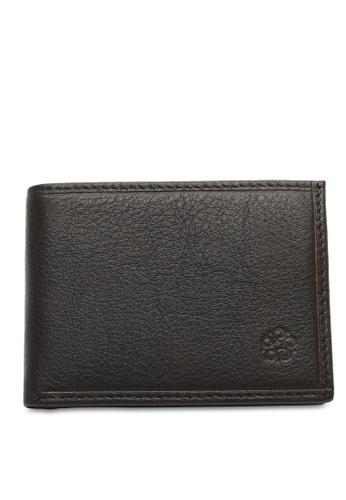 Wild Channel brown RFID Short Wallet EC88FAC37F3C60GS_1
