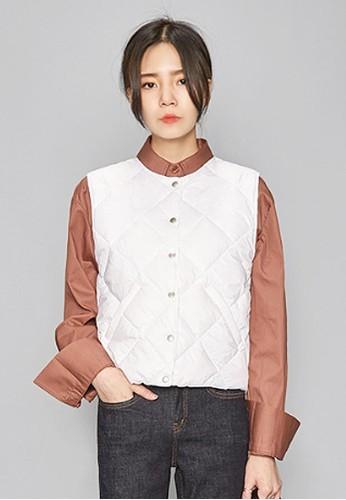 菱格鴨絨馬甲, 服飾, 夾克 & 大esprit台灣衣