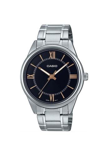 Casio silver CASIO GENERAL MTP-V005D-1B5UDF MEN'S WATCH C7214ACD9BAE12GS_1