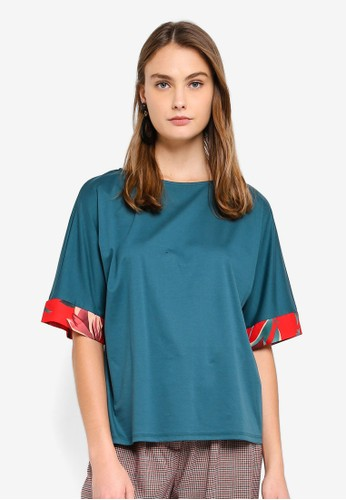 ESPRIT green Short Sleeve Blouse 67FF2AAB62E519GS_1