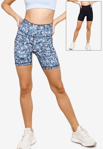 Cotton On Body navy Reversible Bike Short D3D5EAA00FDE16GS_1