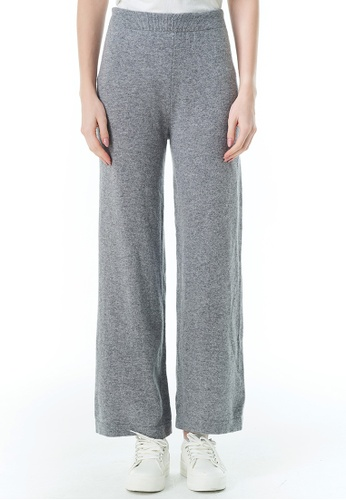 United Colors of Benetton grey Wool Blend pants 7FEADAAC1D6609GS_1