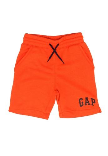 GAP orange Logo Shorts 6DA42KA9AF8067GS_1