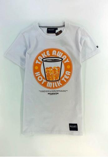 MCOT white mcot design milk tea tee 58327AA3D367F6GS_1