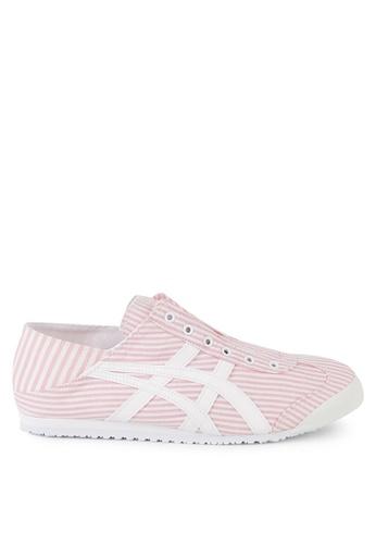 Onitsuka Tiger 粉紅色 Mexico 66 Paraty Shoes BF6E8SH5DC9E4CGS_1
