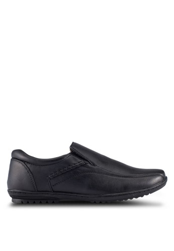 Louis Cuppers black Casual Slip On Shoes LO977SH0RJGBMY_1