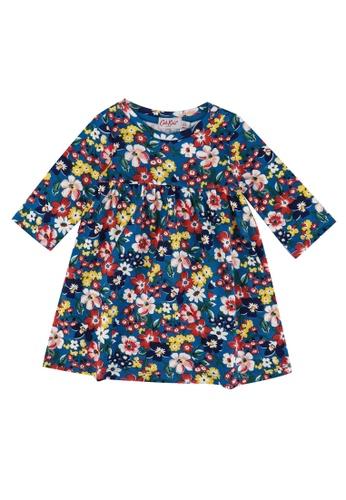 Cath Kidston blue Portland Flowers Baby Everyday Dress 11CA6KAC3FE612GS_1