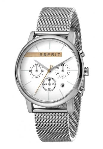 ESPRIT silver Esprit Men Vision Silver Mesh ES1G040M0035 67AE0AC551A315GS_1