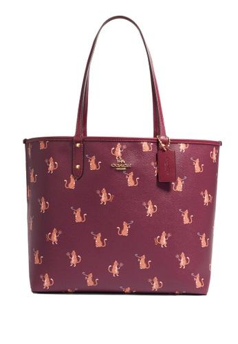 Coach purple Reversible City Tote Bag(cv) B210DACD571EE9GS_1