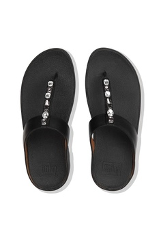 5a3b6e7fa6708 6% OFF Fitflop Fitflop Fino Bejewelled Toe Post (Black) RM 469.00 NOW RM  442.00 Sizes 5 6 7 8 9