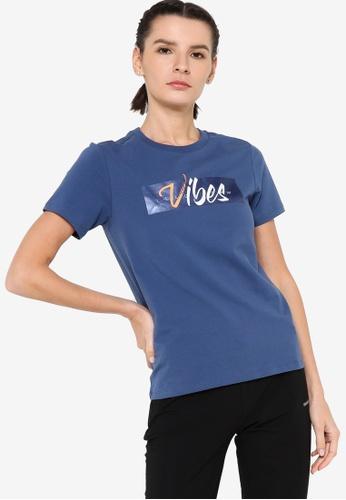 361° blue Cross Training Short Sleeve T-shirt 08A2AAAF54ADD5GS_1