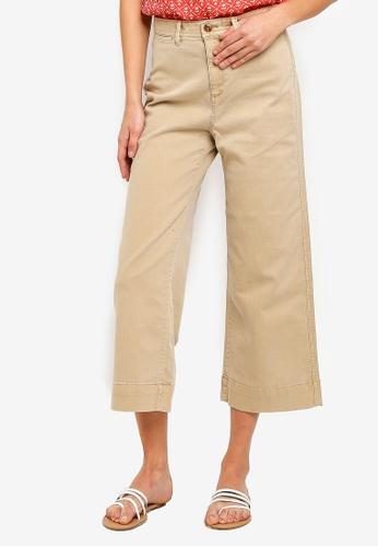 1e83052f01 Buy GAP Wide Leg Chino Long Pants Online | ZALORA Malaysia