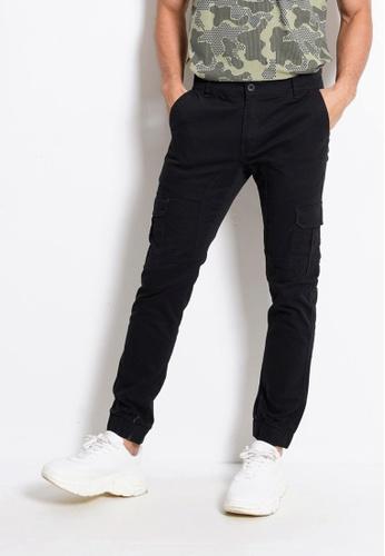 Hi Style black Long Pants Cargo A7E74AA6058D41GS_1
