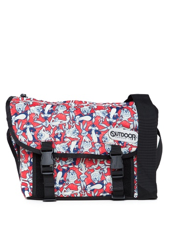 Outdoor Products red Looney Tunes Messenger 34899ACA31ED6AGS_1