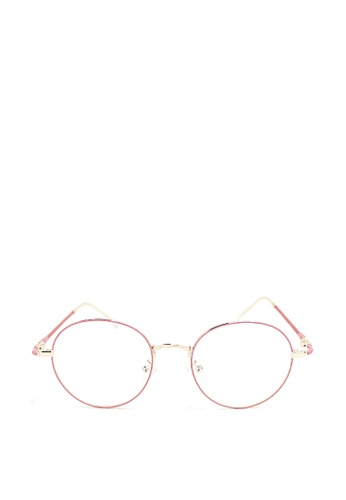 8544427a87 Shop Peculiar and Odd Round Eyeglasses 9007 Anti-radiation Replaceable  Lenses Online on ZALORA Philippines