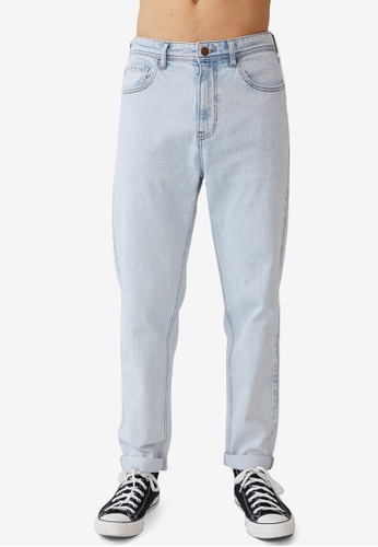 Cotton On blue Relaxed Tapered Jeans DDE3EAAF76B2B0GS_1