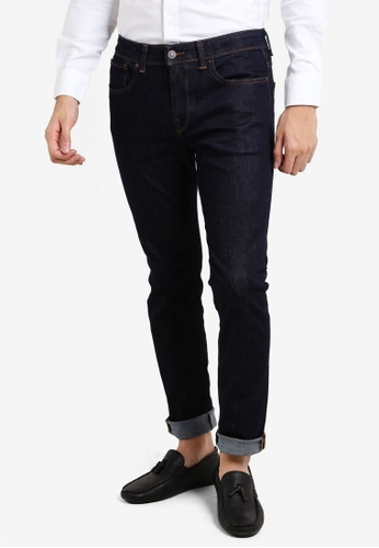 Selected Homme blue Slim Fit Jeans SE364AA86FVPMY_1