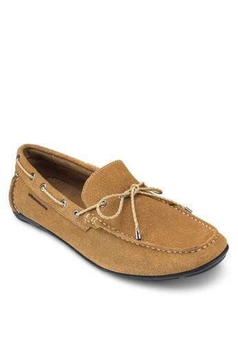 Manzukic 蝴蝶結布料船esprit 眼鏡型鞋, 鞋, 鞋