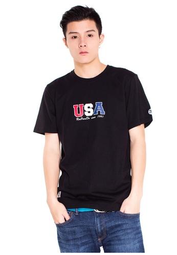 Reoparudo black RPD USA Edition Tee (Black) RE413AA0F9QASG_1