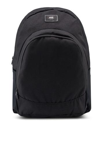VANS black Van Doren Original Backpack 48547ACB34F654GS_1