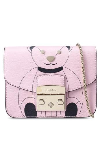 Furla pink Metropolis Mini Crossbody Bag 4F4B7AC009AEE2GS_1