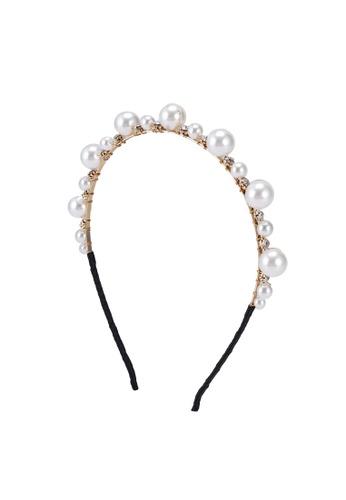 ALDO white Wicaohar Headband 59A93ACF8A3C06GS_1