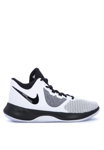 Nike black and white Nike Air Precision II Shoes 882F6SH531684BGS_1