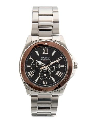 三指針不銹鋼圓錶, 錶類,esprit 工作 飾品配件