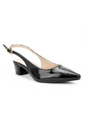 Mario D' boro Runway black LS 95443-Black-Heels 84CC8SH244E018GS_1