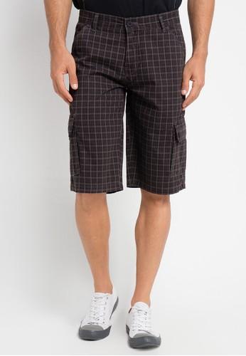 CARVIL brown Bermuda Short Pants CA566AA0URFWID_1