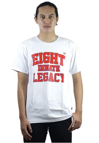 Eight Wardrobe white Eight's Boston White Tshirt Tm434 41D47AA222319AGS_1