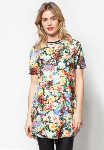 彩色碎花連身裙, 服esprit台灣官網飾, 服飾