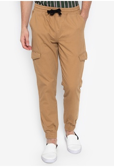 3382766cd5a Chase Fashion brown Hype Aero Cargo String Joggers 87AC3AAE6F4217GS 1
