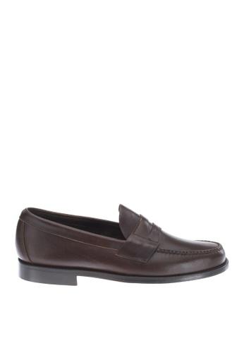 Sebago brown Heritage Penny Dress Casual Shoes SE328SH78GSBPH_1