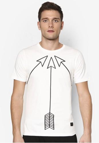 箭頭設計TEE, zalora 台灣門市服飾, T恤