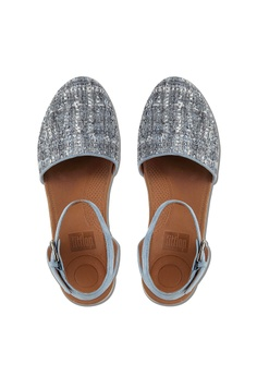 c86c0170ba5a 23% OFF Fitflop Fitflop Cova Closed-Toe Sandals Tweed (Dove Blue) RM 569.00  NOW RM 439.00 Sizes 5 6 7 8