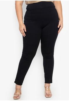 d14f5ff6b536e6 Lulu black Adrian Plus Size Skinny Pants 6233CAA13B034BGS_1