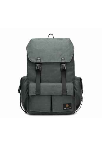 The Dude grey Predator Backpack TH373AC66BUZHK_1
