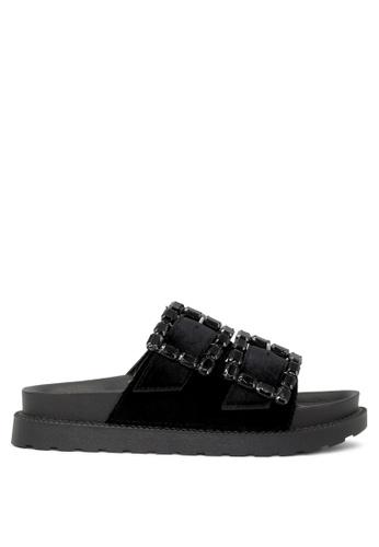 London Rag 黑色 London Rag女士黑色平底鞋 8807FSHF546412GS_1