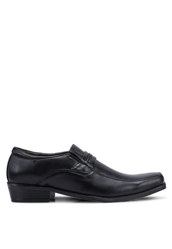 Rocklander black Formal Slip On Shoes C924BSHD66760AGS_1