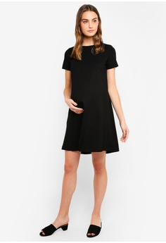 c092915517c Spring Maternity Maternity Short Sleeves Cynthia Dress RM 180.00